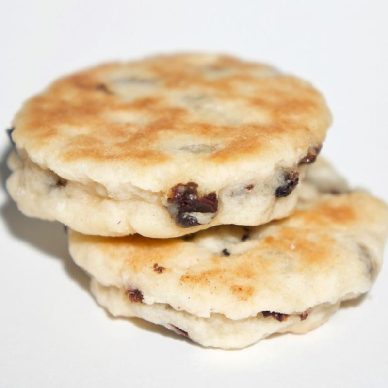 Traditional Welsh cake