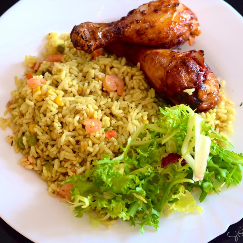 Nigerian Chicken and Rice